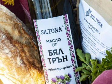 Онлайн магазин за масло и продукти от бял трън   СИЛТОНА ЕООД